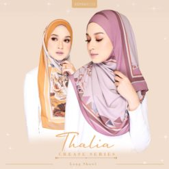 THALIA CREASE SERIES LONG SHAWL