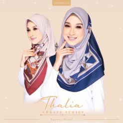 THALIA CREASE SERIES SQUARE SCARF
