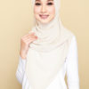 SAKENA BASIC LONG SHAWL - 01 FLUFF CREAM