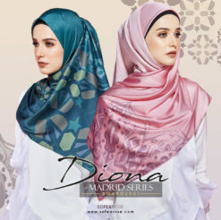 DIONA SWAROVSKI MADRID SERIES LONG SHAWL