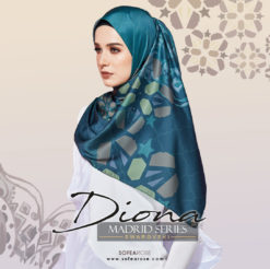 DIONA MADRID SERIES SQUARE SCARF