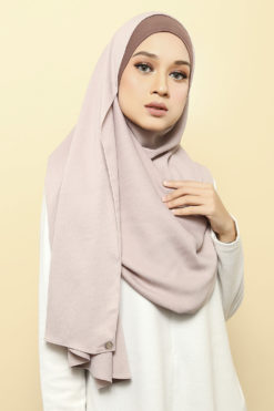 ISABELLE INNER ATTACHED SHAWL - 01 CHOC FUDGE