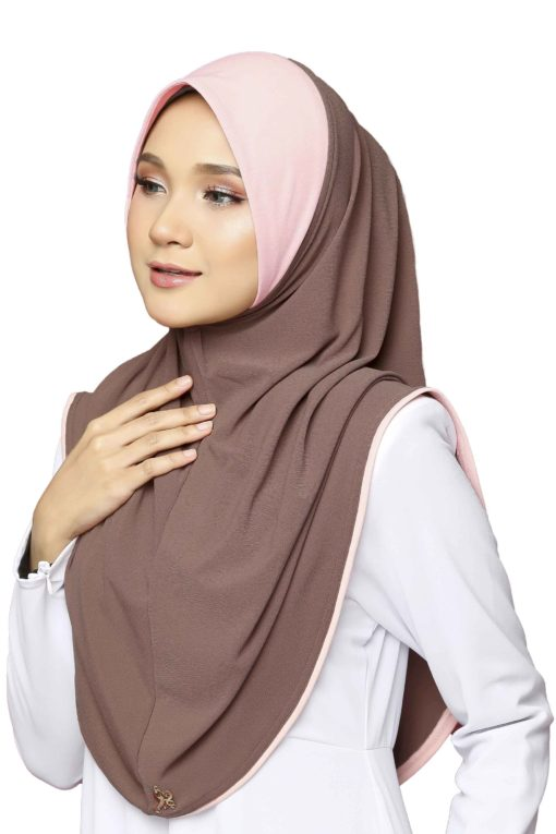 DURANI EXPRESS HIJAB - 02 METALLIC COPPER