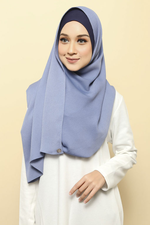 ISABELLE INNER ATTACHED SHAWL - 04 SLATE