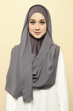 ISABELLE INNER ATTACHED SHAWL - 06 MUD MASK