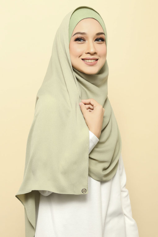 ISABELLE INNER ATTACHED SHAWL - 09 PANDAN CAKE