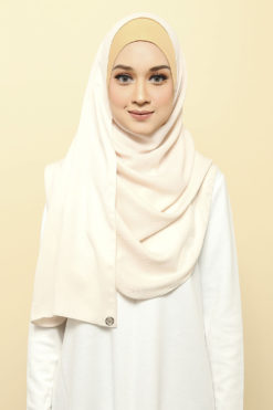 ISABELLE INNER ATTACHED SHAWL - 10 LEMON ZASS