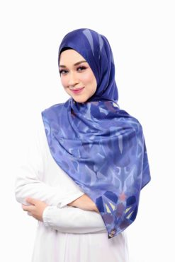 DIONA MADRID SERIES LONG SHAWL - 10 CLASICO NAVY